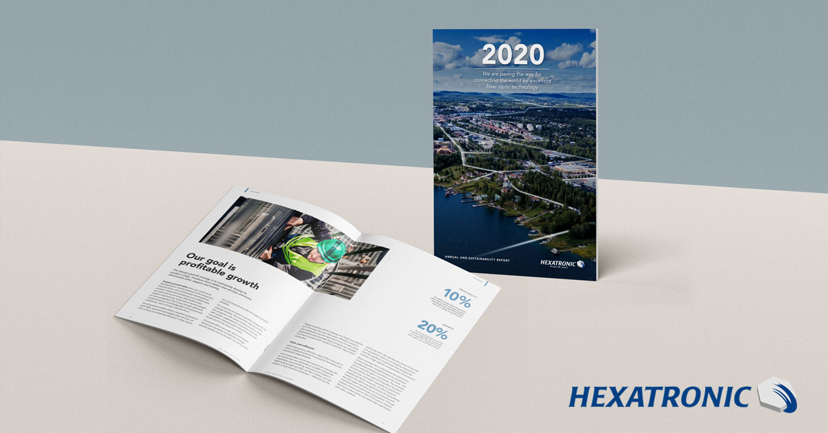 Hexatronic publishes annual report
