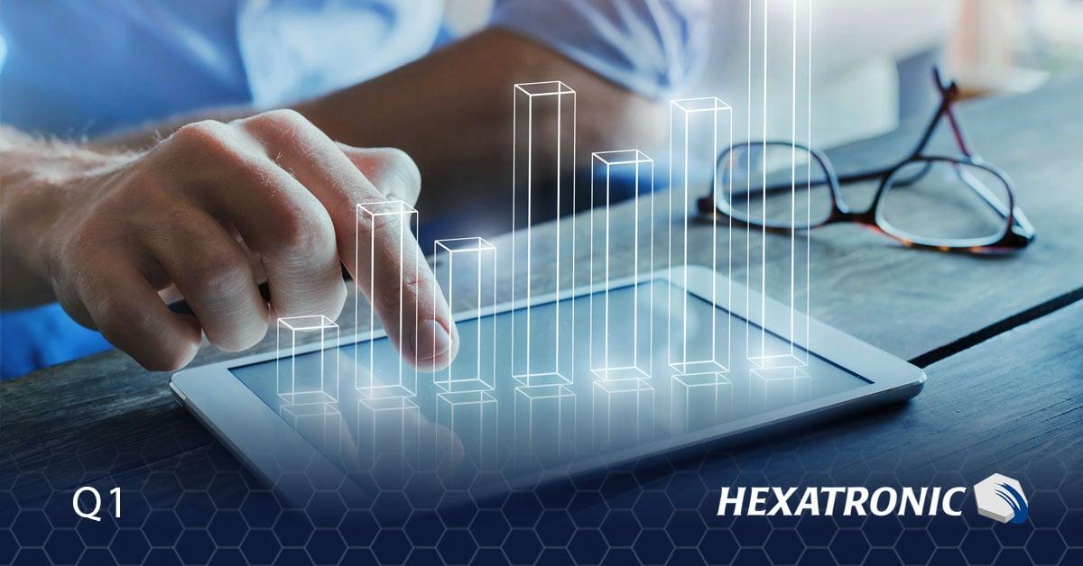 Hexatronic Group - Delårsrapport Q1 2021